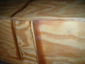 Pirogue Butt Block Joint