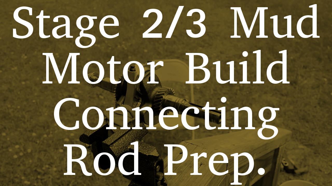 Arc Racing Connecting Rod Prep