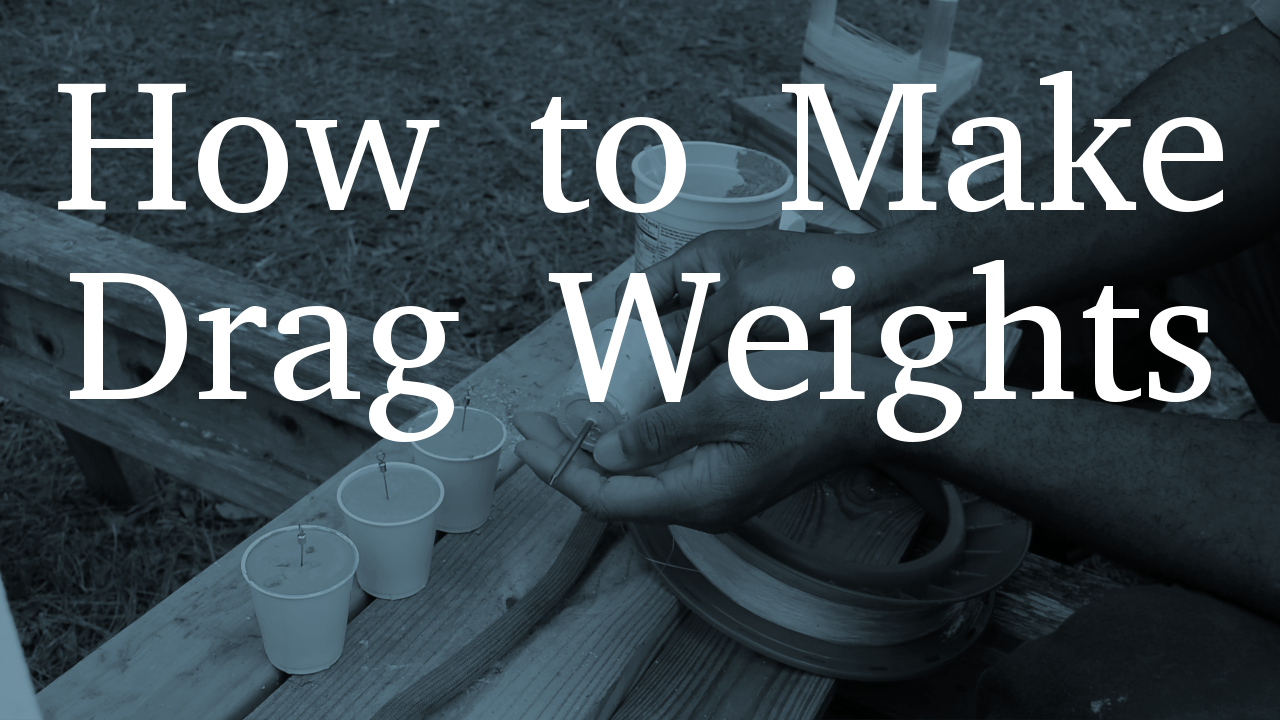 How to Make Drag Weights