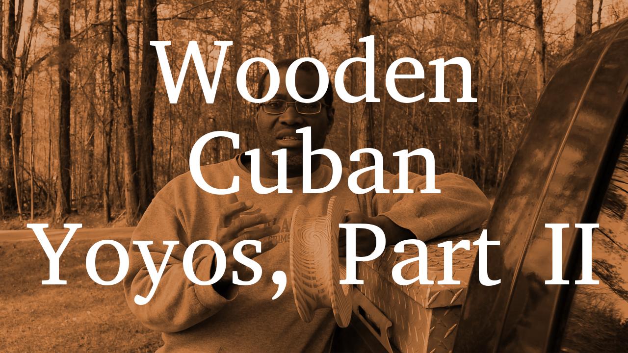 Wooden Cuban Yoyo