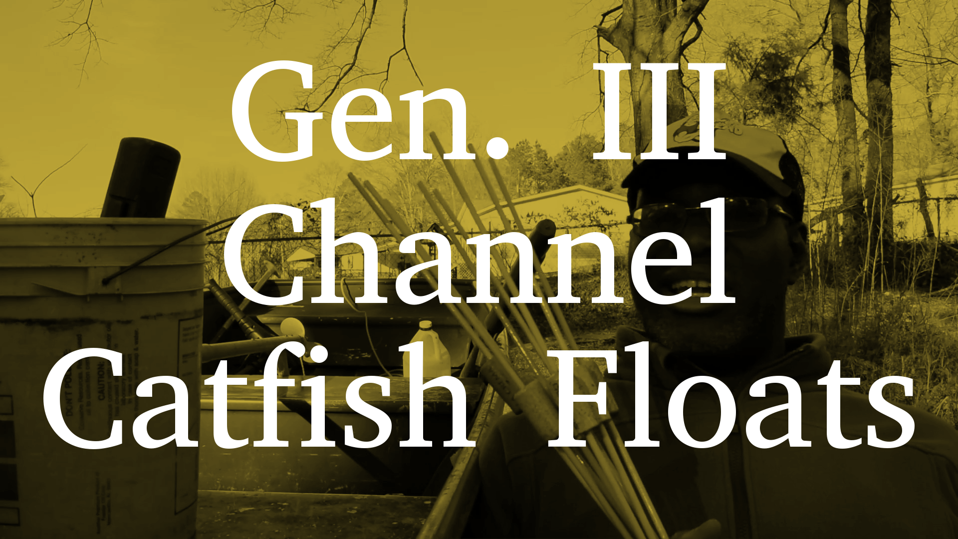 Gen. III Channel Catfish Floats