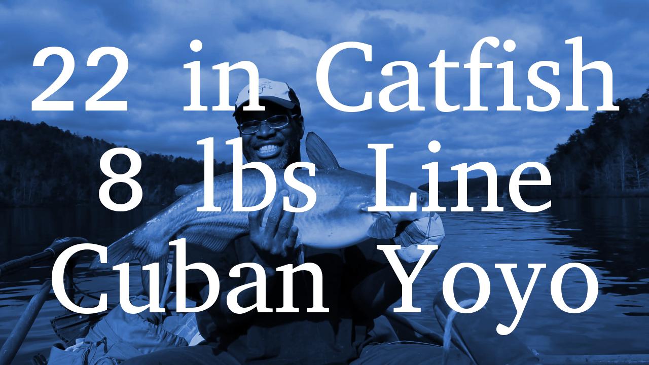 Man Catches 22inch Catfish On 8lbs Handline